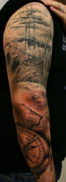 danisahne arm komplett halb fertig tattoos von tattoo