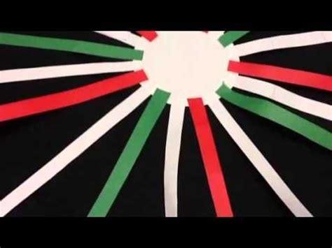 cadenas de papel tricolor 3 ideas tricolor decorativas estilo mexicano chuladas