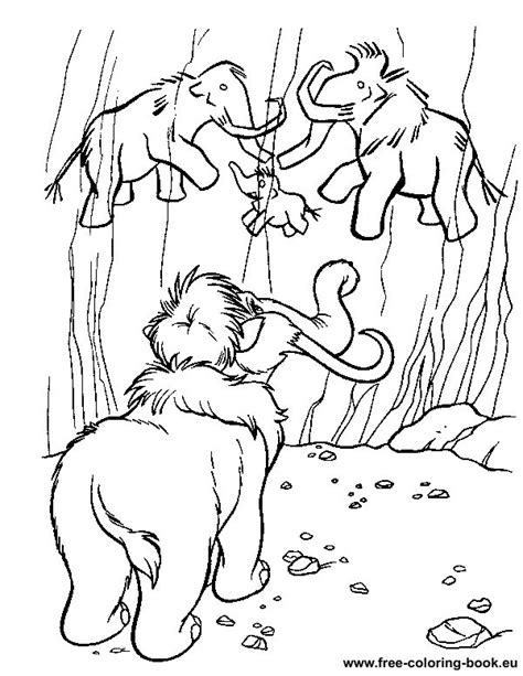 Coloring Pages Ice Age Page 1 Printable Coloring Pages Age Coloring Pages