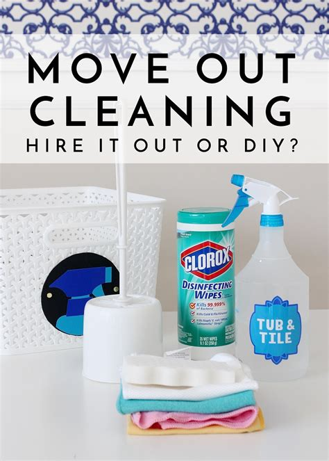 Apartment Move Out Cleaning Move Out Cleaning Diy Or Hire It Out