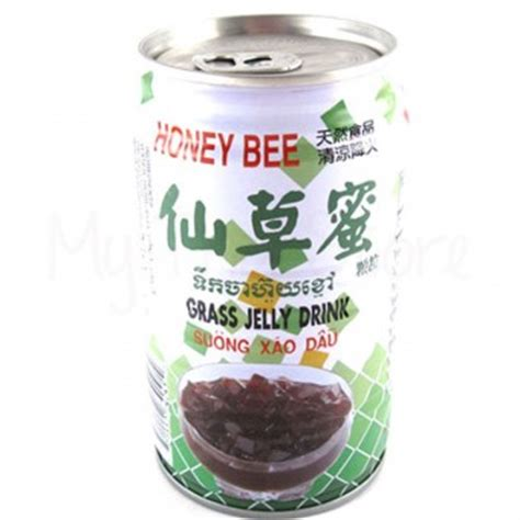 Bumble Bee Jelly grass jelly drink honey bee