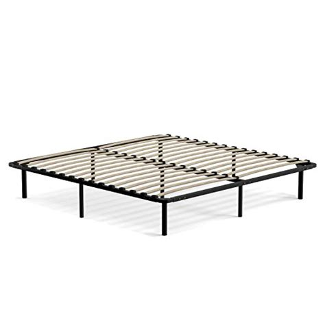 slat bed frame king handy living wood slat bed frame king new ebay