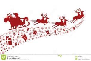 santa sleigh and reindeer silhouette silhouette santa claus flying with reindeer sleigh