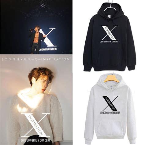 Kaos Jonghyun Shinee X Inspiration kpop shinee cap hoodie sweatershirt unisex jonghyun x