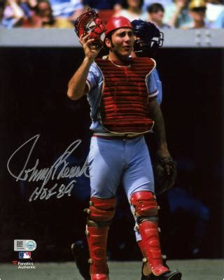 johnny bench memorabilia johnny bench memorabilia autographed signed