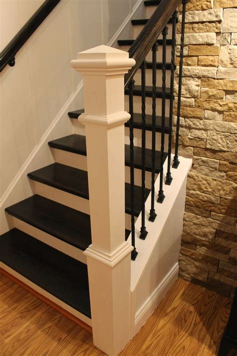 banister remodel 25 best ideas about staircase remodel on pinterest