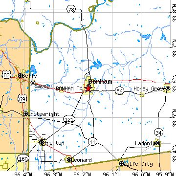 map of bonham texas bonham tx pictures posters news and on your pursuit hobbies interests and worries