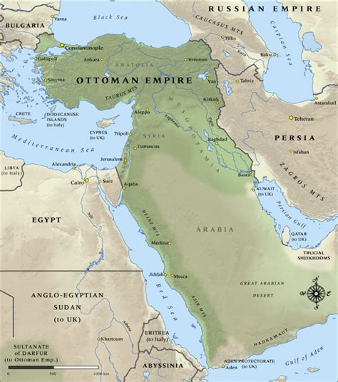 ottoman empire facts ottoman empire map 1914 slowcatchup