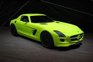 Mercedes Electric Supercar Mercedes Sls Amg E Cell Tech The Electric Supercar