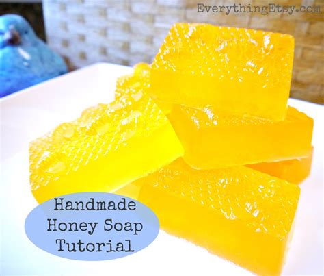 Handmade Soap Tutorial - diy gift handmade honey soap tutorial