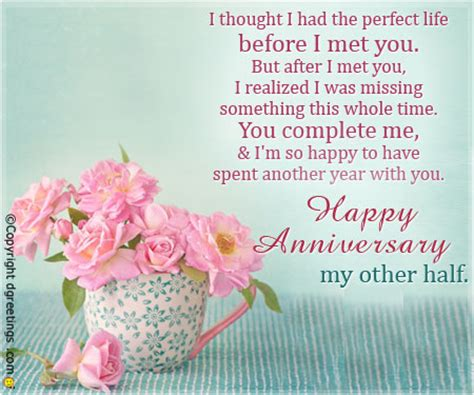 Wedding Anniversary Message For Husband Away by Anniversary Quotes For Him