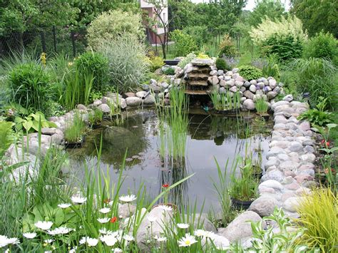Backyard Pond Images by File Garden Pond 1 Jpg