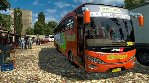 game pc yg bisa di mod ets2 efisiensi triple axle bus mod indonesia youtube