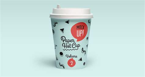 Psd Paper Hot Cup Template Vol2   Psd Mock Up Templates