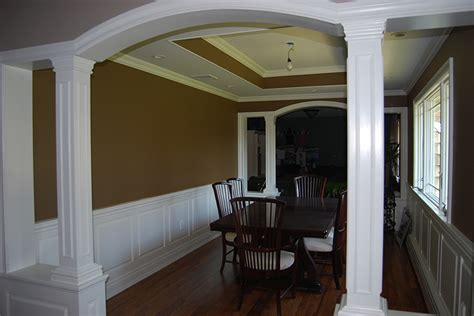 wainscoting ideas for dining room custom wainscoting dining room pictures great ideas