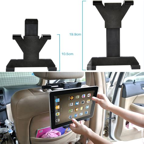 universal car seat tablet holder universal car back seat headrest mount holder tablet car