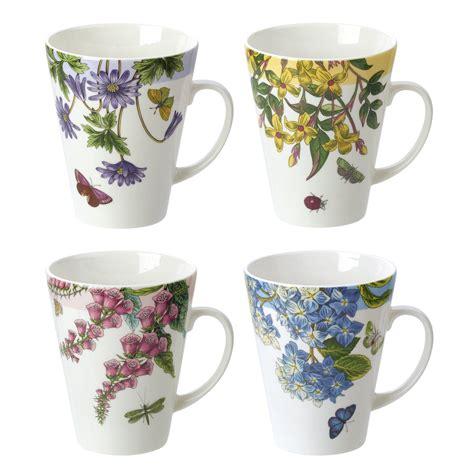 Portmeirion Botanic Garden Mugs Portmeirion Botanic Garden Terrace Set Of 4 Assorted Mugs Portmeirion Usa