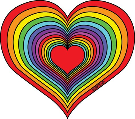 rainbow hearts coloring pages best photos of heart coloring pages rainbow rainbow