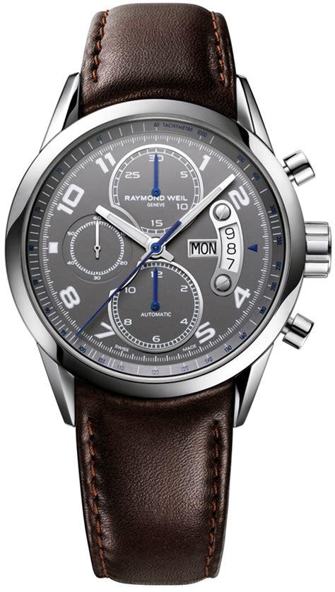 7730 stc 05600 raymond weil freelancer gray chronograph