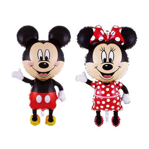 Balon Foil Pentungan Mickey Minnie 112cm mickey minnie balloon foil birthday