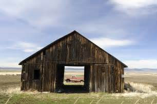 A Barn File View Of Truck Through An Barn Jpg