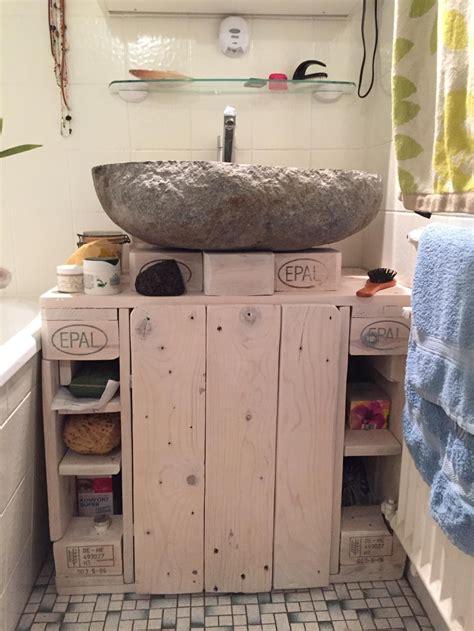 Badezimmer Unterschrank Aus Paletten waschbecken unterschrank badezimmerschrank mk 2 aus