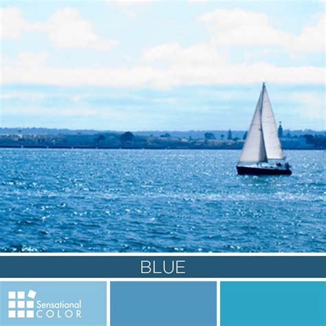 blue meaning blue color palette sensational color