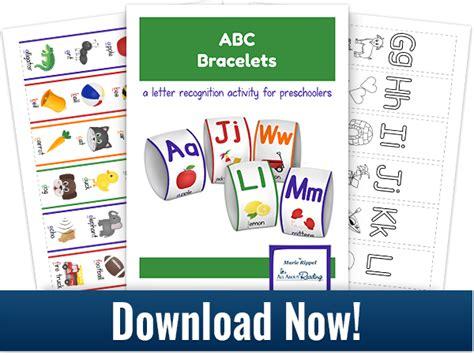 printable alphabet bracelets free printable abc bracelets free homeschool deals