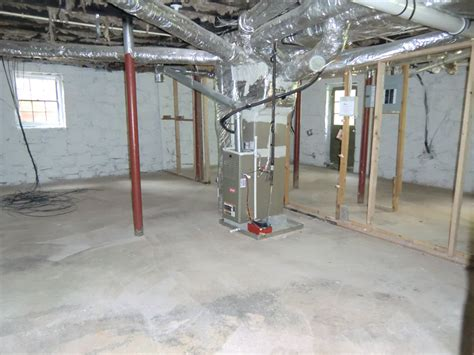 in the basement 17 new hvac system in the basement vision pointe homes