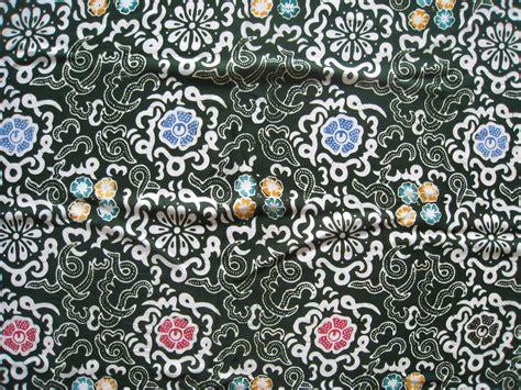 Longdress Santung Batik Cap Flora batik bengkulu indonesia batik corner