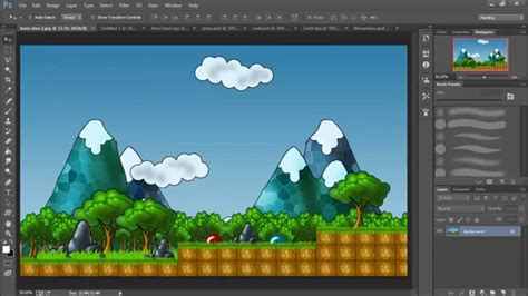 design game photoshop 2d game art for non artists 1 introduction youtube