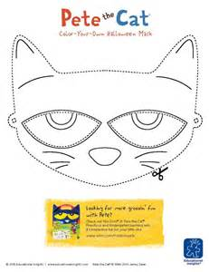 pete the cat printable template free downloadable pete the cat and shelby mask templates