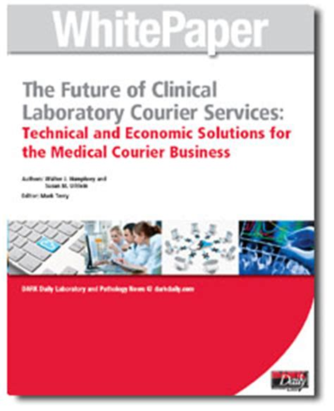 white papers on clinical laboratory pathology industry daily