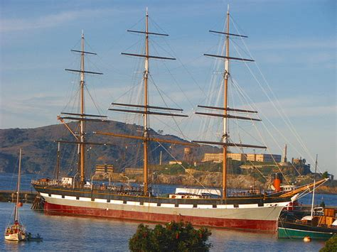 ship mast three mast sail ship quot the balclutha quot a photo from