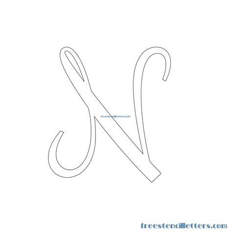 printable stencils letters cursive cursive stencils and numbers to print free stencil letters