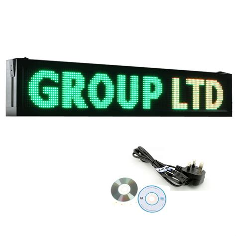 Led Running Text Outdoor outdoor waterproof running text line wifi programmable led