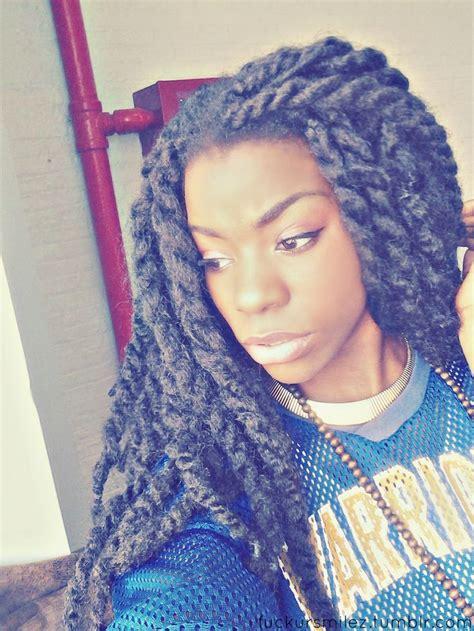 yarn braids 2 glamorous hairstyles marley twists natural hair pinterest havana twists