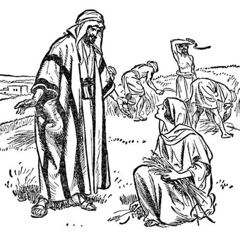 free bible coloring pages ruth ruth and coloring page primary pathways ruth and