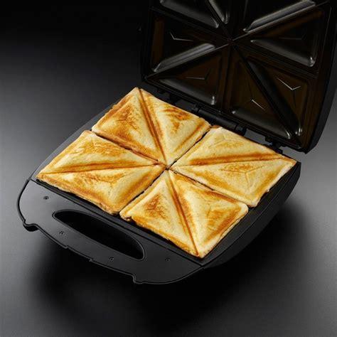 Toaster Sandwich hobbs 4 slice sandwich toaster black 18023 stakelums home hardware