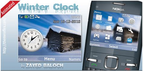 clock themes mobi bmobile tenplate xiteen mobi