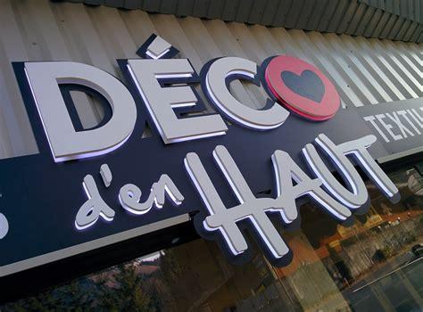 Enseigne Lumineuse Deco by Enseigne Lumineuse D 233 Co D En Haut 224 Morzine C Comm Pub