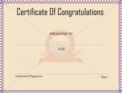 felicitation certificate template 1000 images about congratulation certificate on