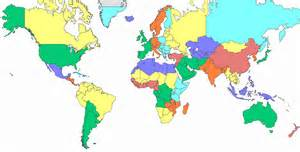 North America And Europe Map by Antarctica Asia Australia Europe North America And South