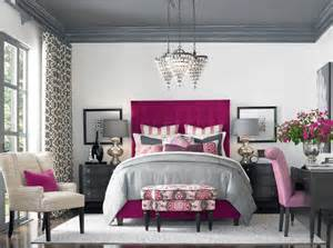 raspberry accents it from hgtv master bedroom
