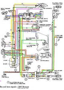 1974 ford bronco wiring diagram car wiring diagrams
