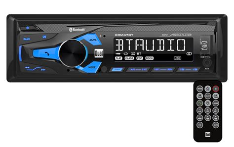 Power Mobil 8000waat Ads Usb Bass xrm47bt digital media receiver with built in bluetooth front panel 3 5mm and usb aux inputs