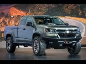 2015 chevy colorado zr2 diesel concept z71 lt revealed