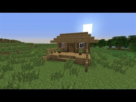 how to build a little house minecraft how to make a nice little house youtube