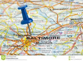 usa map baltimore md pushpin in baltimore maryland usa map stock photography