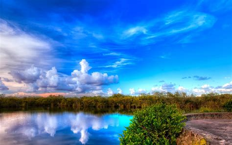 blue sky landscaping ブルースカイ 自然の風景壁紙 1920x1200ダウンロード 10wallpaper